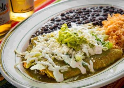 Enchiladas Chilangas